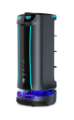 HolaBot (Delivery Robot That Features Pagering and Notifications)